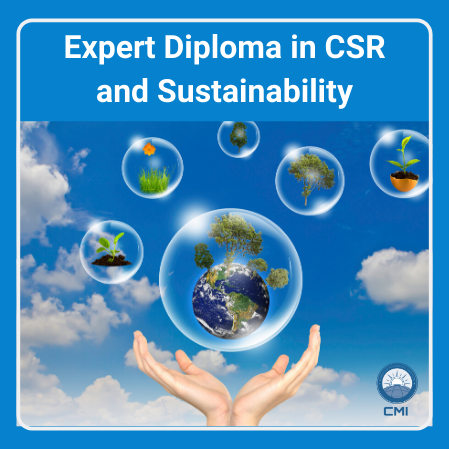 Expert Diploma in CSR and Sustainability